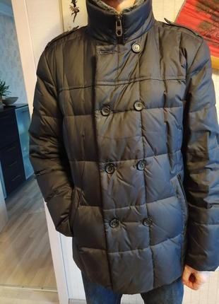Зимняя куртка пуховик зима clasna