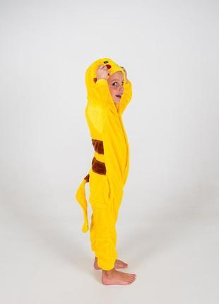 ... Детские пижамы костюм кигуруми пикачу4 ... 8dacd2b5d165b