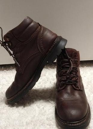 Кожаные ботинки на слякоть (качество)38,5