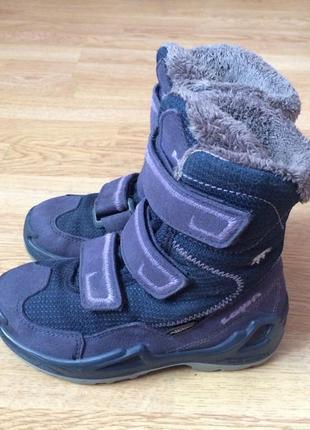 Зимние термо ботинки lowa германия 27 размера с мембраной gore-tex в отличном состоянии