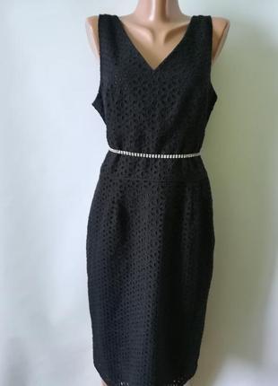 Красивое платье с перфорацией