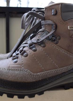 Треккинговые мембранные ботинки gore tex lowa германия р. 3 1/2 р.36/37 23-24