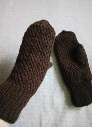 Варежки hand made