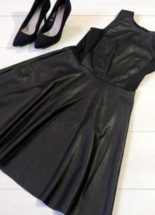 Кожаное платье от atm