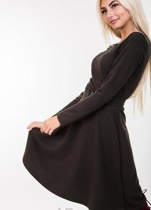 Красивое романтичное женственное платье сукня плаття с расклешенной юбкой солнце в.s-l5
