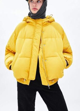 Куртка пуховик зима zara