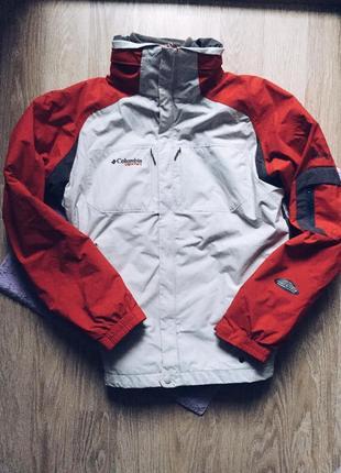 Куртка лыжная с подкладом columbia оригинал теплая непромокаемая