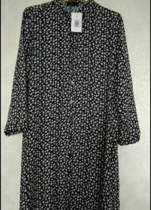 Актуальная рубашка платье халат бренда papayа,размер 12