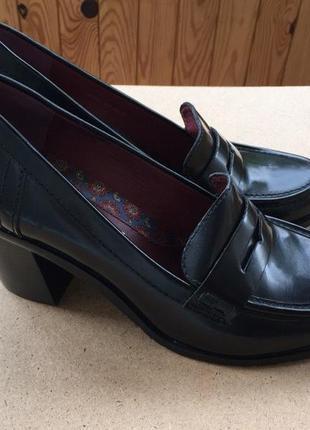 Кожаные туфли-лоферы marc o'polo