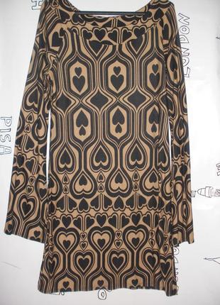 Платье туника new look из тонкого трикотажа