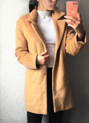 Пальто 50% шерсть