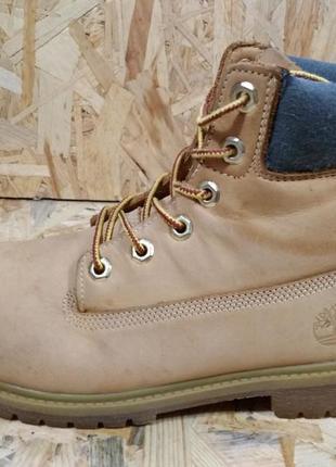 Кожаные ботинки timberland 37-38 р.