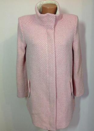 Розовое полушерстяное пальтишко. /m/ brend naf naf