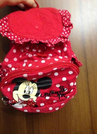 Рюкзак в горошек с мини miki disney