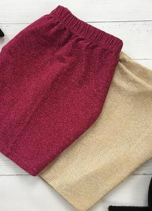 Изящная мерцающая юбка miss selfridge