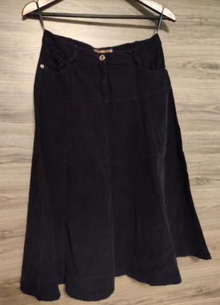 Длинная вельветовая юбка  la&b&la