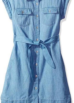 Платье джинсовое для девочки eur 98 104 110 116 calvin klein оригинал сша