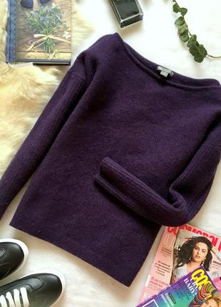 Отличный теплый свитер джемпер из 100% шерсти gap