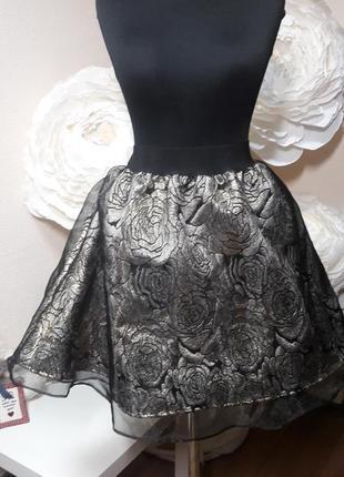 Шикарная юбка-пачка