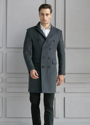 Мужское пальто до колен