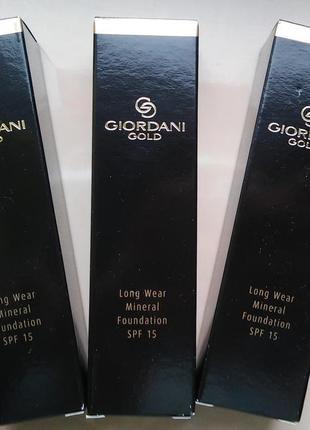 Тональная основа роскошный атлас giordani gold орифлейм