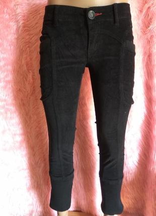 Вильветовые брюки капри zuiki