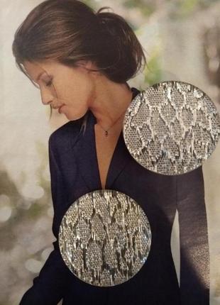 Шикарные серебристые серьги-клипсы!!! качественный пластик!