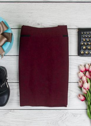 Теплая фактурная юбка от bhs рр 12 наш 46