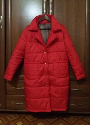 Пальто зимове, пуховик, парка, куртка зима