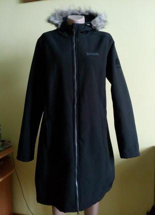 Regatta термо куртка парка тепла на широкі бедра на наш 54-56р.пальто