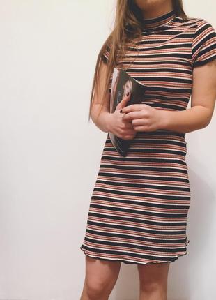 Платье в рубчик от primark