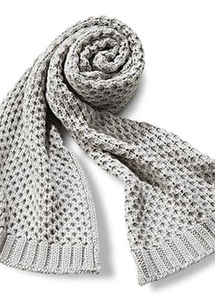 Огромный теплый шарф tcm tchibo германия