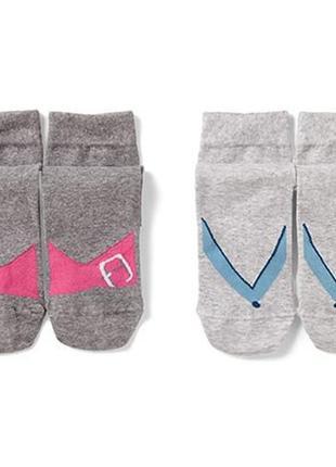 2 пары носков tchibo, р.35-38