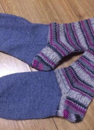 Носочки вязаные ручная работа