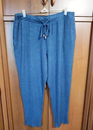 Комфортные трикотажные брюки размера 54-56