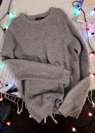 ♥️ базовый серый свитерок