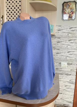 Шикарный кашемировый свитер очень красивого цвета