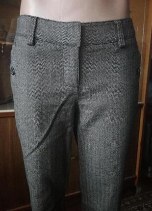 Коричневые теплые брюки