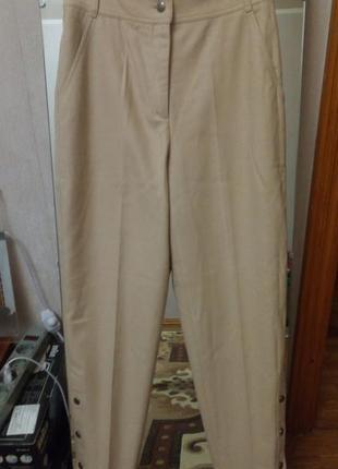 Шерстяные брюки byblos,высокая талия