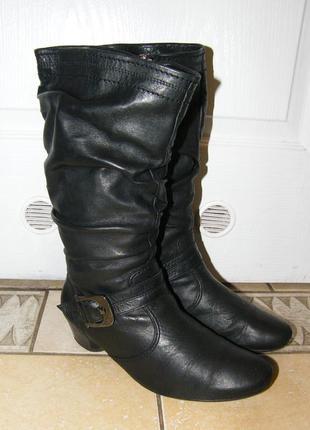 Сапоги ara кожаные демисезонные, размер 39-39,5