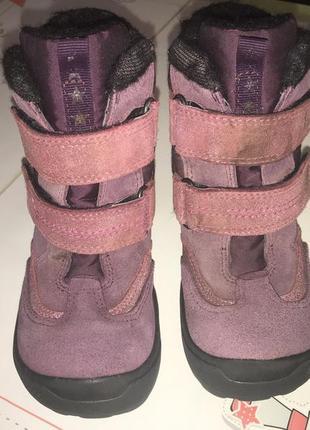 Термо-ботинки ecco  по стельке 17.5см