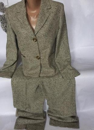 Крутой тёплый  стильный костюм max mara