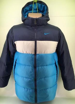 Куртка nike унісекс (ріст 152-158) зима/пух