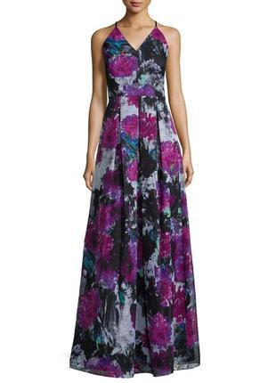 """Роскошное платье """"phoebe couture"""" макси, а-силуэт на бретелях """"4"""" на s-xs (42-44 рр))"""