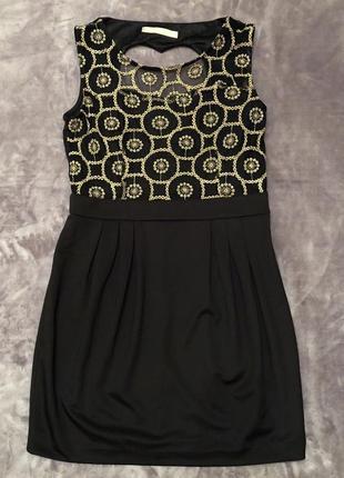 Платье с вырезом на спине в форме сердца