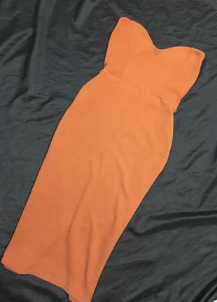 Платье миди, платье карандаш