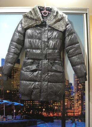Зимнее пальто куртка reserved xs/s