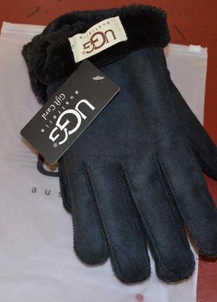 Натуральные женские перчатки ugg australia