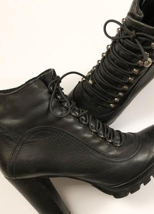 Ботинки кожаные2 фото