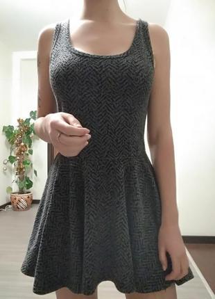 Шикарное платье повседневное / базовое